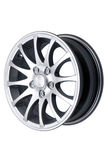 Alloy wheel stock image