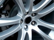 Alloy Wheel Stock Image