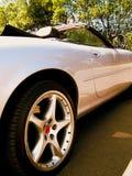 Alloy Wheel. Concept photo of a classic sports car Royalty Free Stock Photos