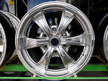 Alloy wheel Stock Photography