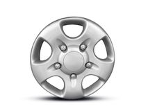Alloy Wheel. Metal rim in white color background stock image