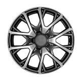 Alloy wheel for a car. Car wheel. Alloy wheel for a car on a white background Stock Photos