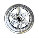 Alloy wheel with clipping path Stock Photos