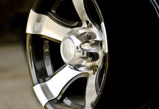 An alloy wheel Stock Images
