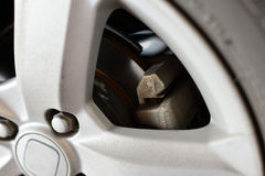 Alloy Wheel Closeup Stock Image