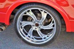 Alloy Wheel, Motor Vehicle, Wheel, Tire stock image