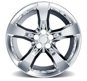 Alloy Wheel Rim Royalty Free Stock Image