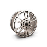 Alloy Wheel Rim isolated on white Stock Image