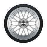 Alloy Wheel. Vector stylish alloy wheel for car tuning vector illustration