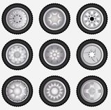 alloy wheels Stock Photos