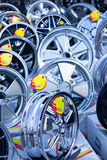 Alloy Wheels. Royalty Free Stock Photo