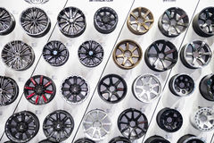 Alloy wheels Royalty Free Stock Photo