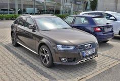 Allroad di quattro di Audi A4 Immagini Stock
