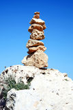 allsidiga rocks Arkivbilder