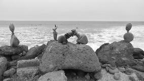 allsidiga rocks Arkivfoto
