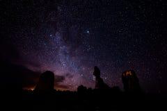 Allsidigt vagga på natten Royaltyfria Bilder