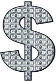 allsmäktig dollar royaltyfri illustrationer