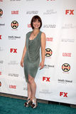 Allson Mack arrives at the FX Summer Comedies Party Stock Photography