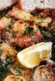 Allsort fritto dei frutti di mare Fotografie Stock Libere da Diritti