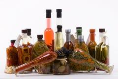 allsort marinated produkter arkivbilder