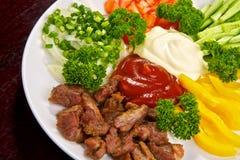 allsorts λαχανικό κρέατος Στοκ Εικόνες