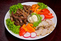 allsorts λαχανικό κρέατος στοκ εικόνα με δικαίωμα ελεύθερης χρήσης