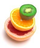 Allsorts da frutta tropicale Fotografia Stock