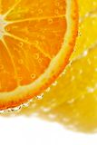 Allsorts-limão cor de limão, tangerine fotos de stock royalty free