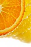 Allsorts-limón cítrico, mandarina Fotos de archivo libres de regalías