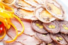 allsorts mięsa warzywa Zdjęcie Stock