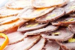 allsorts mięsa warzywa Obrazy Stock