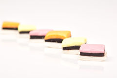 Allsorts in a row Royalty Free Stock Photos