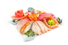 Allsorts from seafood Stock Photography