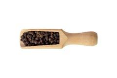 Allspice в деревянном шаре стоковые изображения