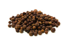 Allspice. Cooking ingredient series    allspice. for adv etc. of restaurant,grocery,and others Royalty Free Stock Images