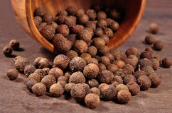Allspice in a bowl Stock Photos