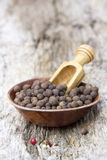 Allspice in a bowl Stock Image