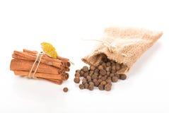 Allspice cinnamon Stock Photo