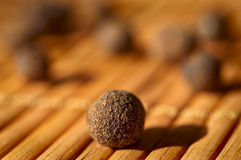 Allspice close-up. Cooking ingredients Stock Image