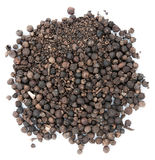 Allspice on the isolated background Stock Photography