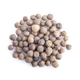 Allspice isolated on a white background Royalty Free Stock Photography