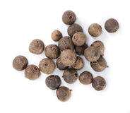 Allspice (isolated on white) Royalty Free Stock Images