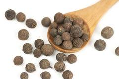 Allspice (Jamaica pepper) fruits Stock Photo