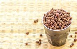 Allspice. Pepper closeup stock image. Exotic spice closeup image Stock Image