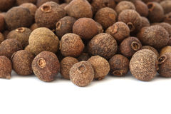 Allspice - pimento - on white background Royalty Free Stock Images