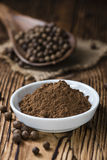 Allspice Powder Royalty Free Stock Photography