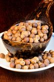 Allspice for seasoning blends. Whole peas are added to meat soups, marinades, sauces to meat, fish dishes. it gives flavor to stock photography