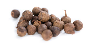 Allspice ( on white) Royalty Free Stock Images