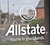 Allstate Insurance Sign Royalty Free Stock Photos