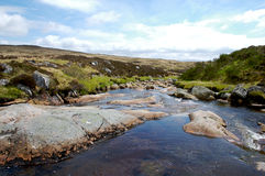 Allt Eigheach. A clear fresh scottish glen near in the Rannoch Moor are in scottland royalty free stock photos